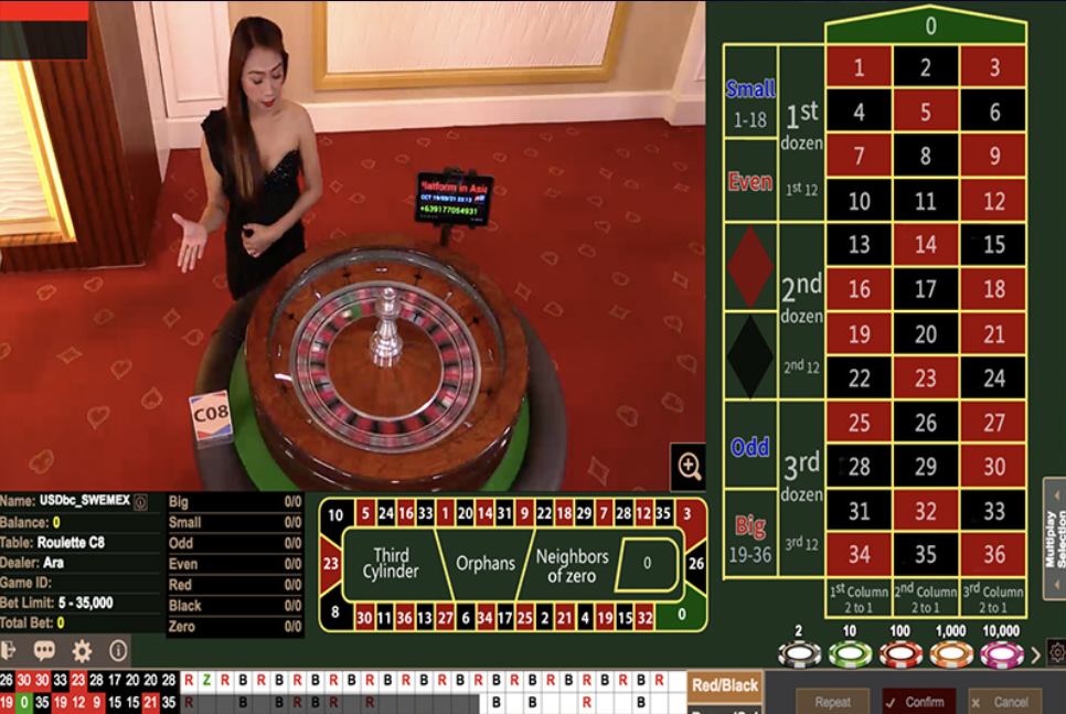 Asia Gaming - Online Live Casino33