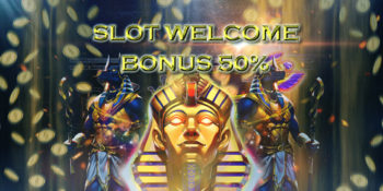 Slot Welcome Bonus 50%